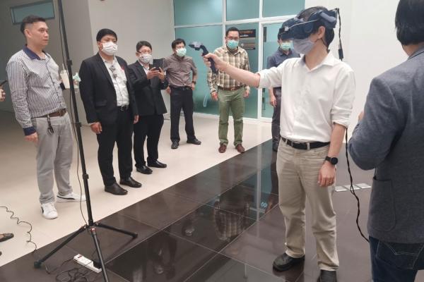 คณะสัตวแพทยศาสตร์ มข. เข้าพบผู้ช่วยอธิการบดีฝ่ายดิจิทัลหารือโครงการวิจัย VR (Virtual Reality) เพื่อการเรียนการสอนทางด้านกายวิภาคศาสตร์